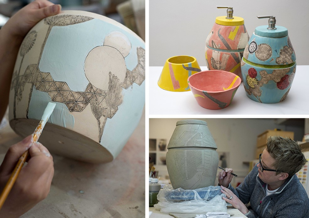 ceramics collage for wordpress